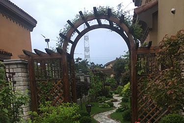 花园设计施工实景图